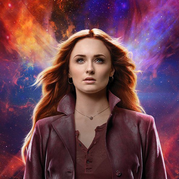 Nữ chính trong X-Men: Dark Phoenix gợi liên tưởng đến Captain Marvel của MCU - Hình 1