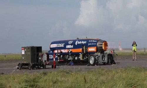 Siêu xe 1.600 km/h chạy thử thành công - Hình 2