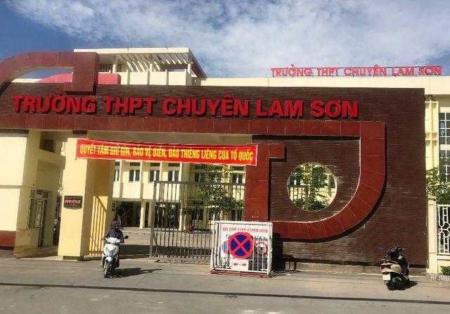 Thanh Hóa: Điểm chuẩn vào lớp 10 Trường THPT chuyên Lam Sơn - Hình 1