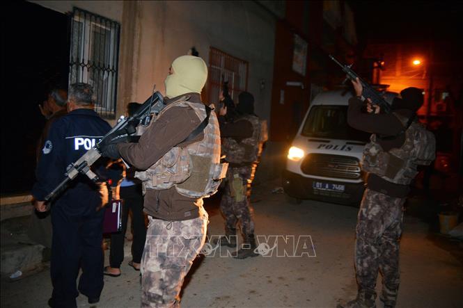 Thổ Nhĩ Kỳ bắt giữ 10 đối tượng tình nghi liên quan IS - Hình 1