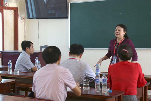 Thứ trưởng Bộ GD-ĐT kiểm tra công tác chuẩn bị cho kỳ thi THPT quốc gia tại Quảng Bình - Hình 1