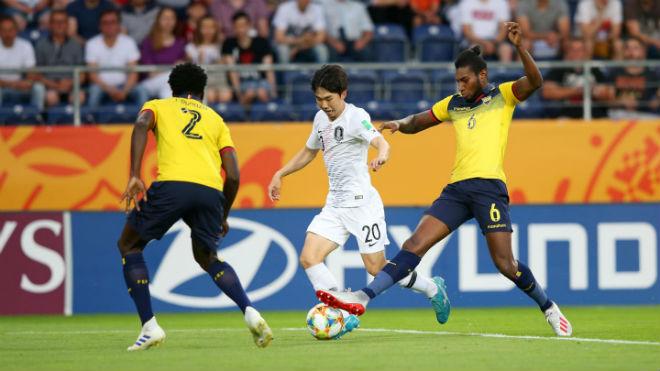 U20 Ecuador - U20 Hàn Quốc: Đàn em Son Heung Min tạo đại địa chấn - Hình 1