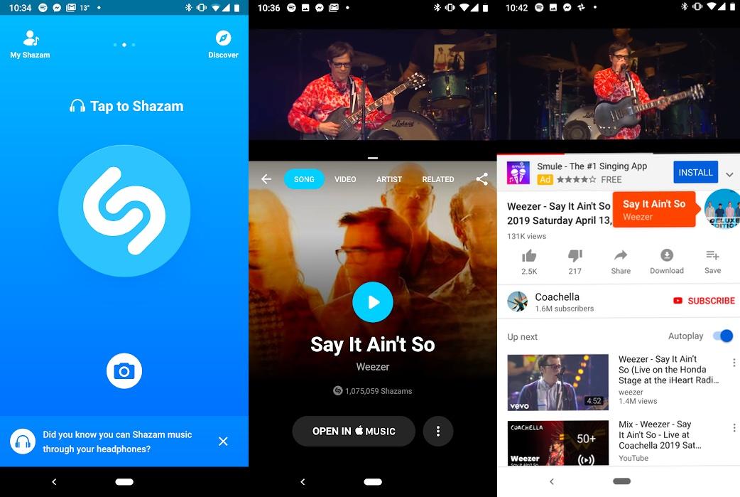 Ứng dụng Shazam có thể nhận diện bài hát phát qua tai nghe - Hình 1