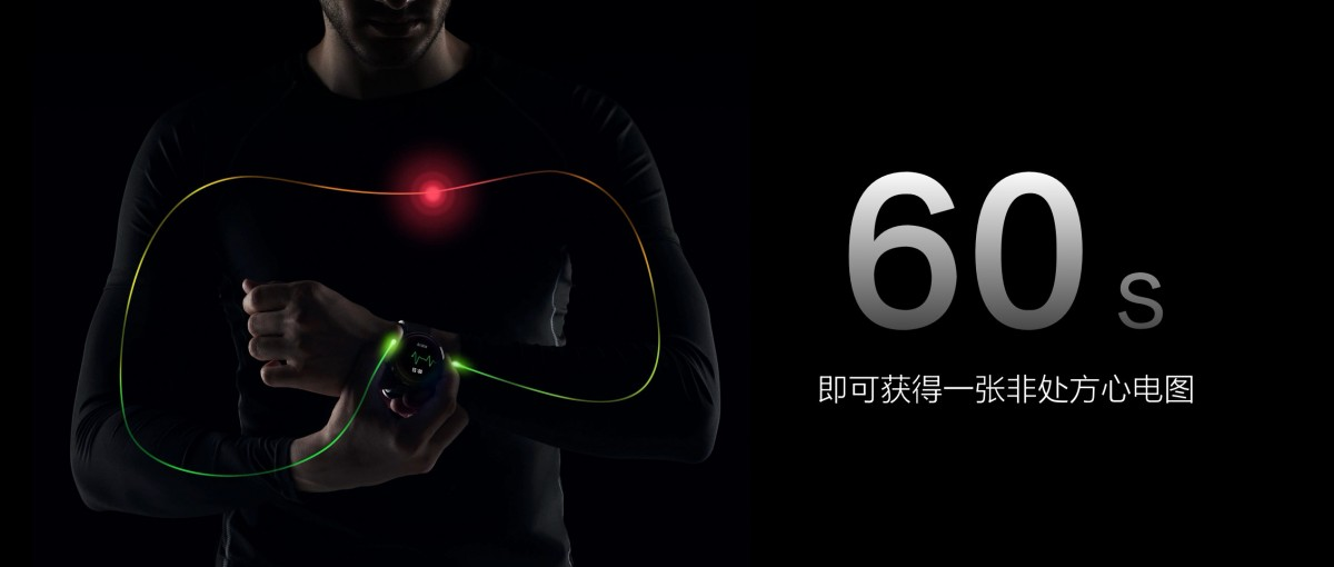 Xiaomi ra mắt smartwatch có hỗ trợ eSIM và đo điện tâm đồ (ECG) - Hình 3