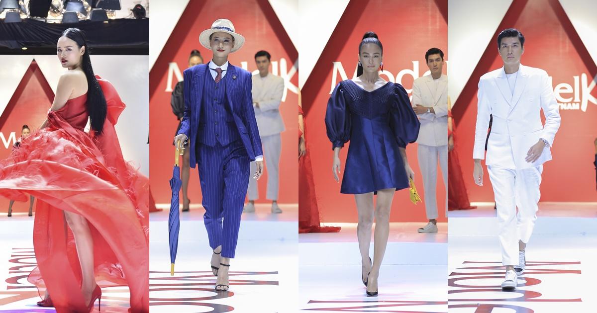 Mặc chân đau, di chuyển khó khăn Hương Ly vẫn catwalk xuất thần cùng Mâu Thủy, Tuyết Lan và Quang Đại - Hình 11