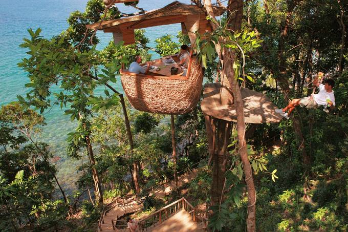 Resort Thái Lan nơi bạn được phục vụ bữa ăn lơ lửng giữa rừng - Hình 2