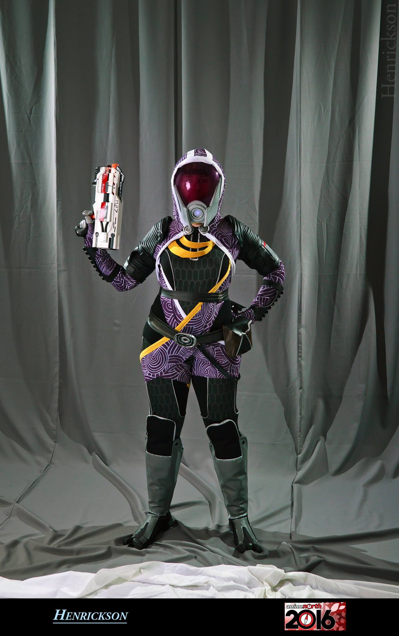 Bộ ảnh cosplay nữ thiên tài trẻ Tali'Zorah - Hình 4