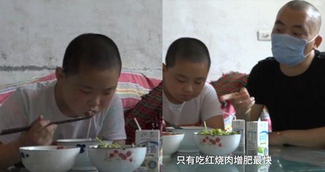 Cậu bé 11 tuổi tình nguyện ăn 5 bữa/ngày để tăng 15kg đủ sức hiến tuỷ cứu cha - Hình 1
