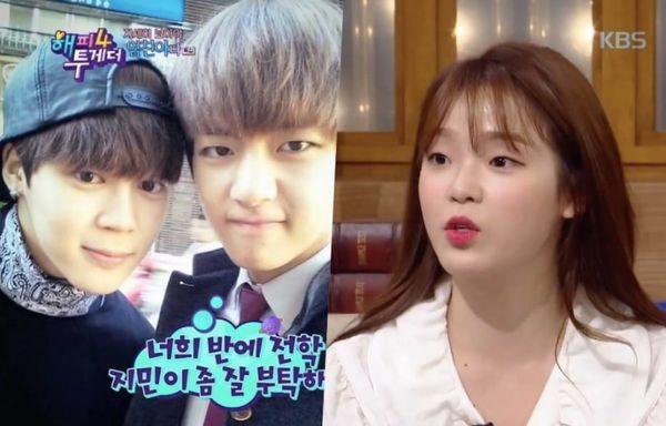 Jimin và V của BTS thời trung học qua lời kể của Seunghee (Oh My Girl)! - Hình 1