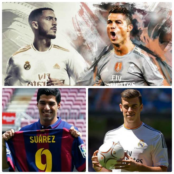 10 năm bom tấn Ngoại hạng Anh tới Liga: Hazard có ngon như Ronaldo? - Hình 1