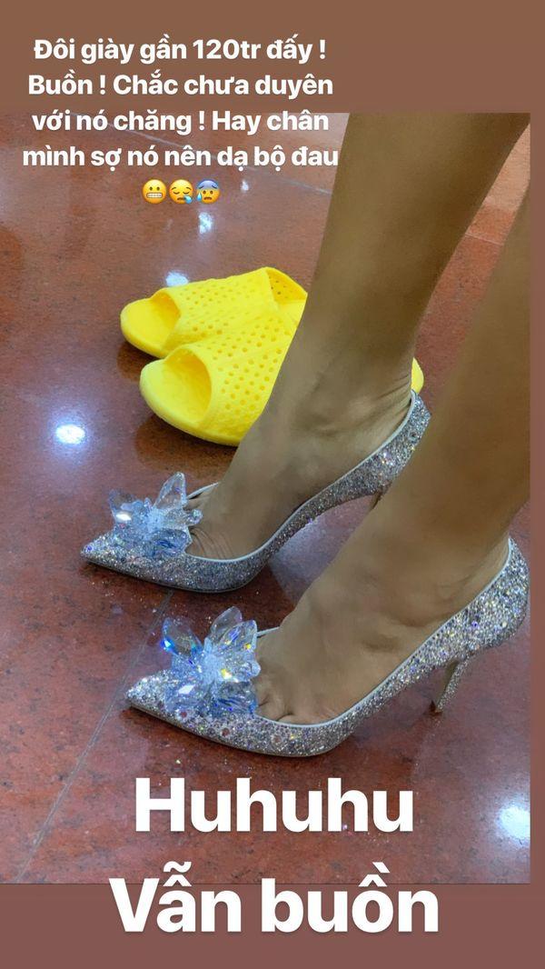 Bật mí lý do HHen Niê tiếc hùi hụi vì không mang được giày lọ lem 120 triệu - Hình 2
