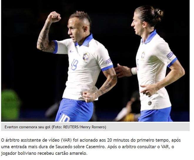 Brazil đại thắng Copa America: Báo chí choáng vì SAO Barca xuất sắc - Hình 3