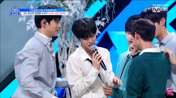 Đây chính là lý do khiến Kim Woo Seok òa khóc trên sân khấu Produce X 101 - Hình 2