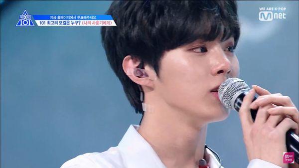 Đây chính là lý do khiến Kim Woo Seok òa khóc trên sân khấu Produce X 101 - Hình 1