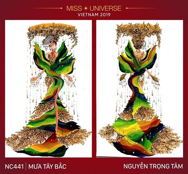 Dự đoán những thiết kế sẽ được chọn vào vòng trong cuộc thi trang phục dân tộc cho Hoàng Thùy - Hình 13