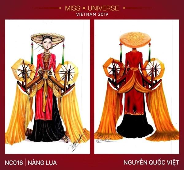 Dự đoán những thiết kế sẽ được chọn vào vòng trong cuộc thi trang phục dân tộc cho Hoàng Thùy - Hình 5