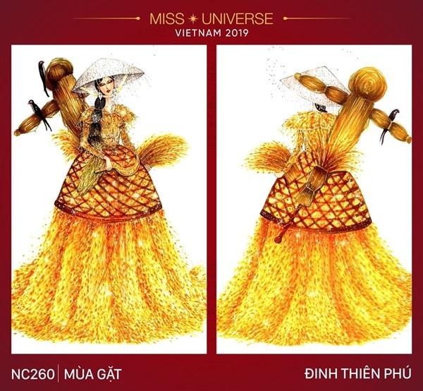 Dự đoán những thiết kế sẽ được chọn vào vòng trong cuộc thi trang phục dân tộc cho Hoàng Thùy - Hình 8