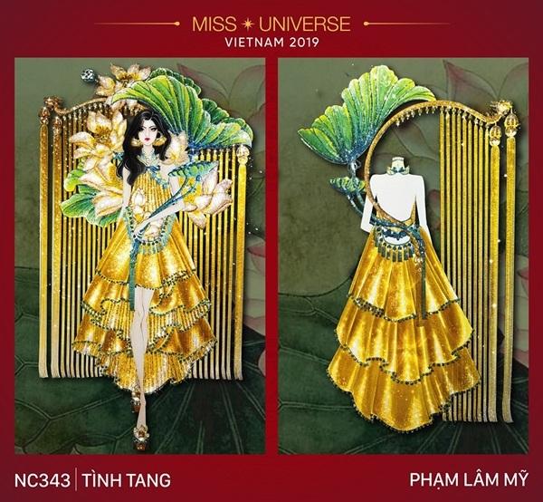 Dự đoán những thiết kế sẽ được chọn vào vòng trong cuộc thi trang phục dân tộc cho Hoàng Thùy - Hình 10