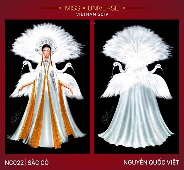 Dự đoán những thiết kế sẽ được chọn vào vòng trong cuộc thi trang phục dân tộc cho Hoàng Thùy - Hình 3