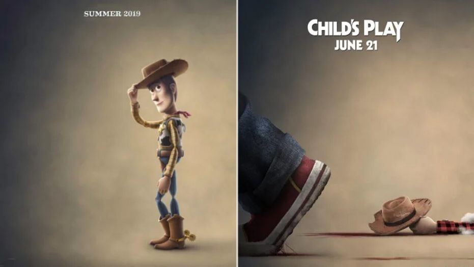 Liên tục tung poster đá xoáy Toy Story, phải chăng búp bê ma Chucky đang lên kế hoạch đè bẹp đối thủ trong ngày ra mắt? - Hình 3
