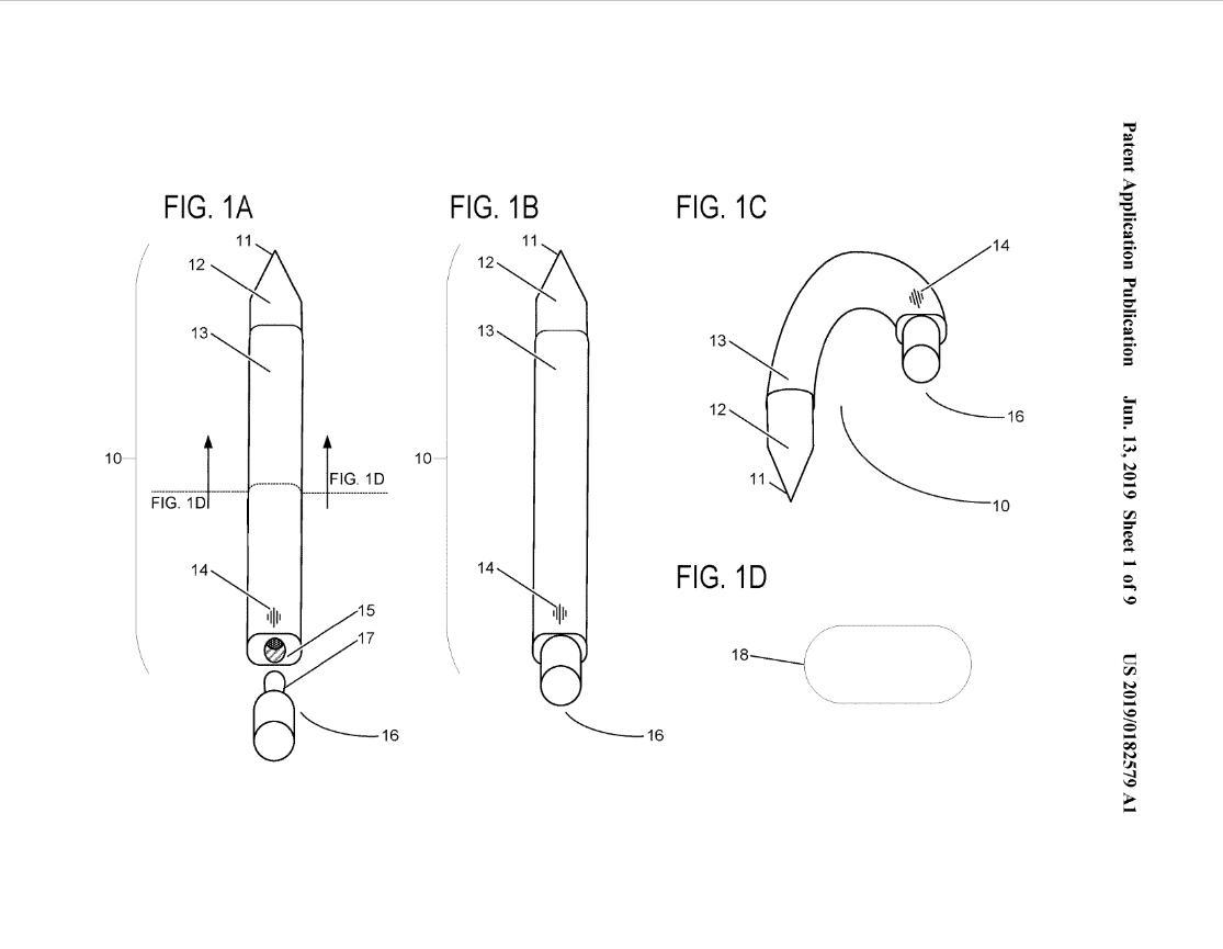 Microsoft đang phát triển một cây bút Surface có thể bẻ cong và... đeo vào tai - Hình 1