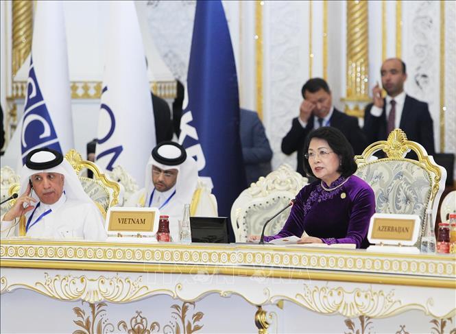 Phó Chủ tịch nước Đặng Thị Ngọc Thịnh dự Hội nghị Thượng đỉnh CICA - Hình 1