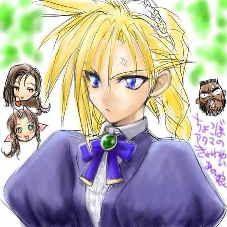 Chẳng phải Tifa hay Aerith, Cloud mới là nhân vật xinh đẹp nhất Final Fantasy VII - Hình 11
