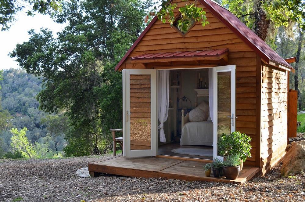Những ngôi nhà nhỏ được cải tạo từ nhà kho đẹp bất ngờ - Hình 6