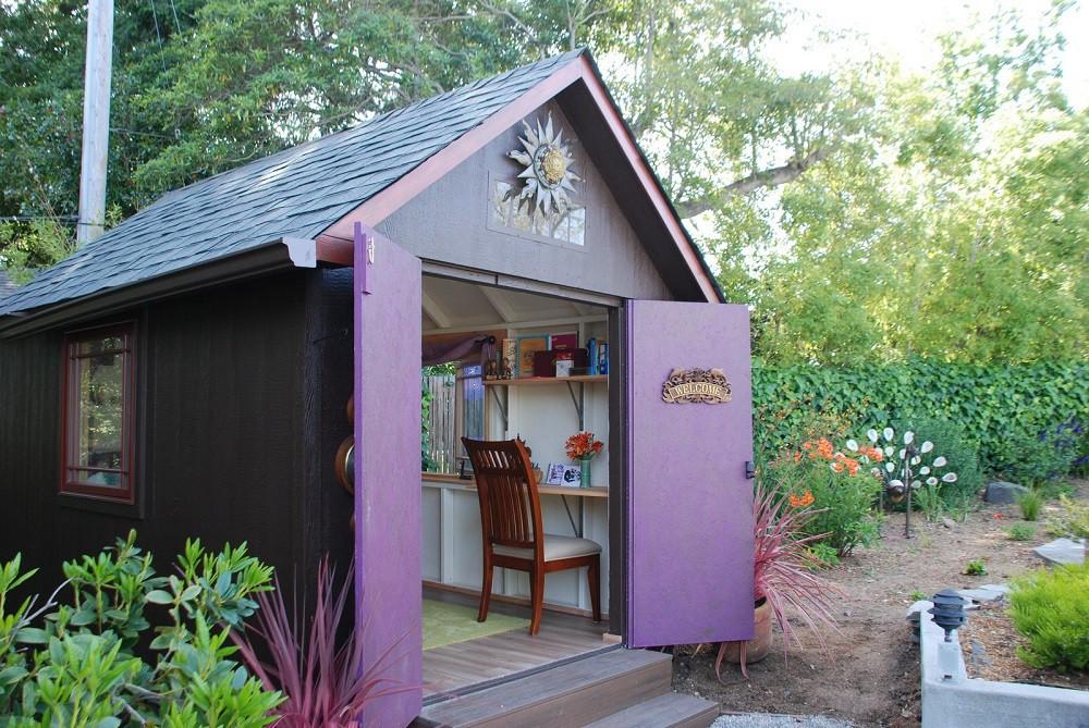 Những ngôi nhà nhỏ được cải tạo từ nhà kho đẹp bất ngờ - Hình 8
