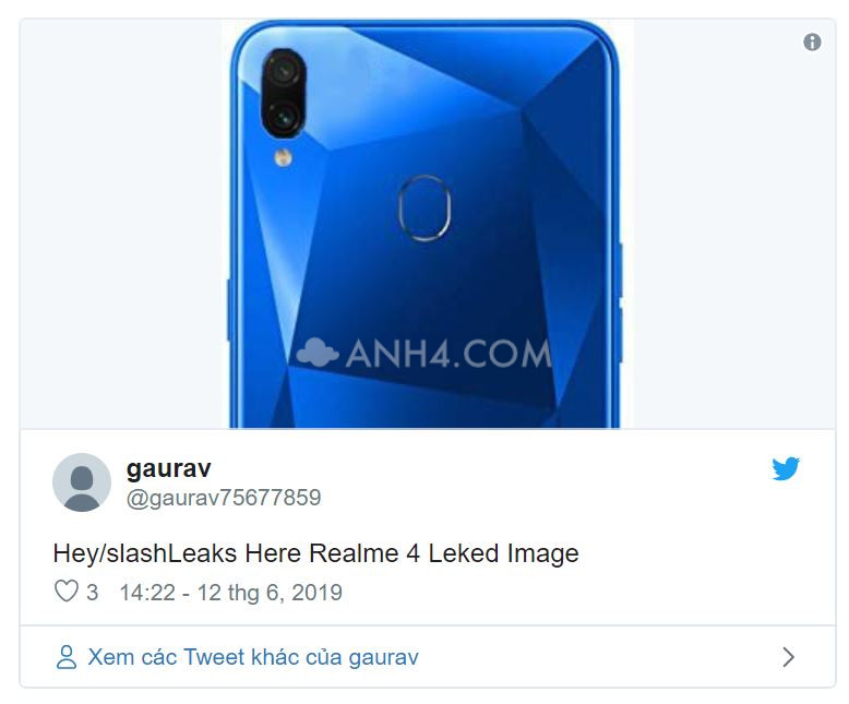 Realme 4 bất ngờ lộ ảnh và video vỏ hộp, xác nhận nhiều chi tiết về thiết kế - Hình 1