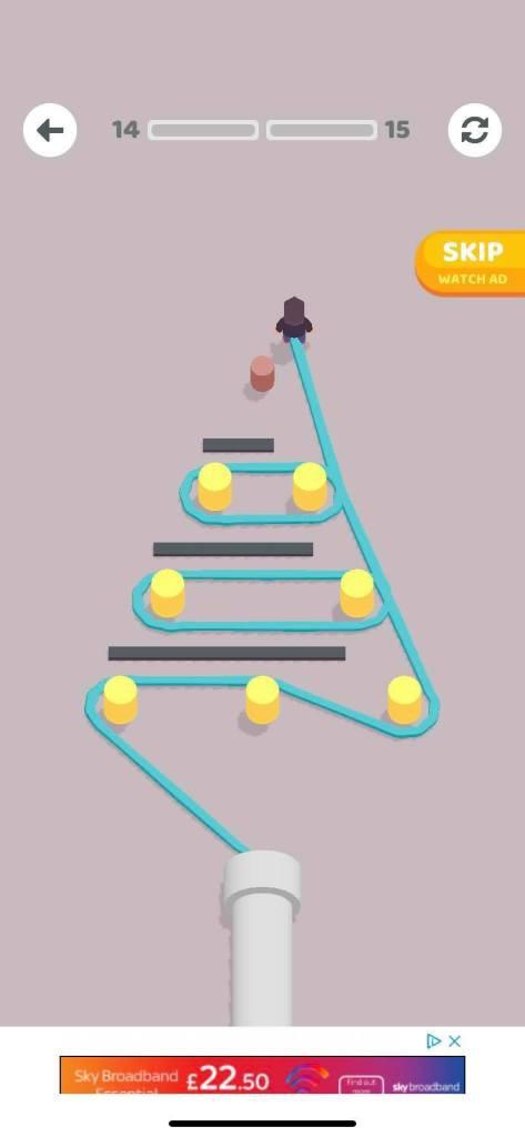 Rope Around - tựa game hack não nhất hành tinh - Hình 2