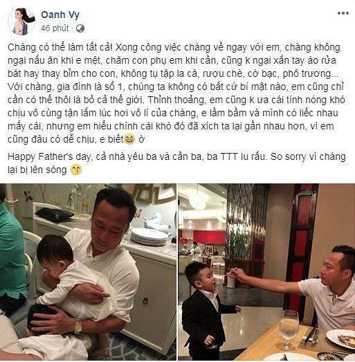Sao Việt gửi những lời chúc đầy xúc động đến Ngày của cha 2019 - Hình 10