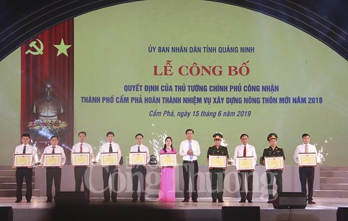 TP Cẩm Phả hoàn thành nhiệm vụ xây dựng nông thôn mới - Hình 4