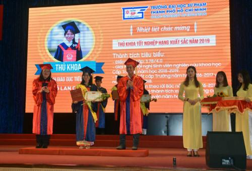 Trường ĐH Sư phạm TP.HCM: 1.863 sinh viên tốt nghiệp - Hình 1