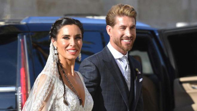 Vợ Nacho 'thả rông' trong lễ cưới Sergio Ramos - Hình 1