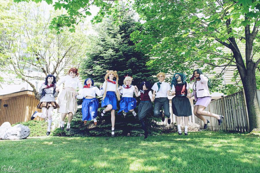 Ami Mizuno cosplay cùng nhóm chiến binh thủy thủ - Hình 1