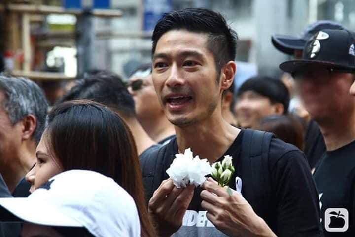 Châu Nhuật Phát, Trần Tiểu Xuân, Vương Hỷ cùng dàn sao TVB sát cánh cùng đồng bào phản đối luật dẫn độ - Hình 4