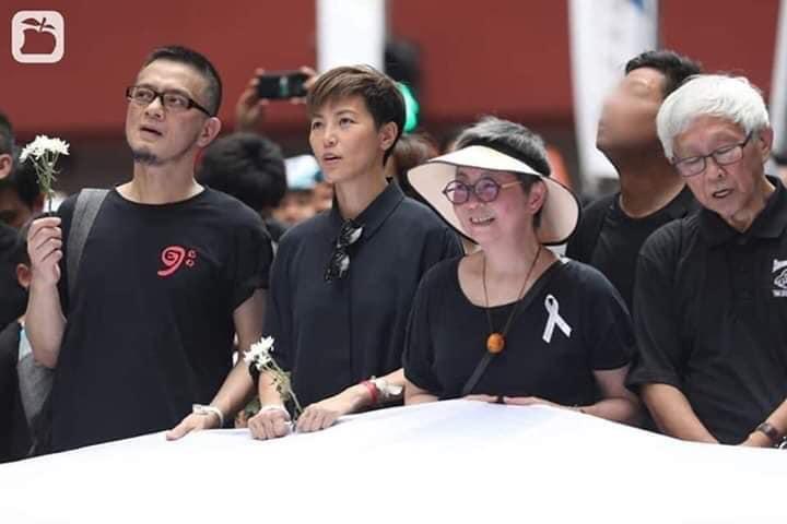 Châu Nhuật Phát, Trần Tiểu Xuân, Vương Hỷ cùng dàn sao TVB sát cánh cùng đồng bào phản đối luật dẫn độ - Hình 6