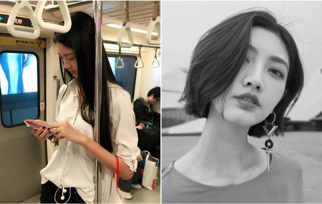 Cô gái giản dị vẫn nổi bật cả góc tàu điện ngầm, biết được danh tính lại càng bất ngờ hơn - Hình 1