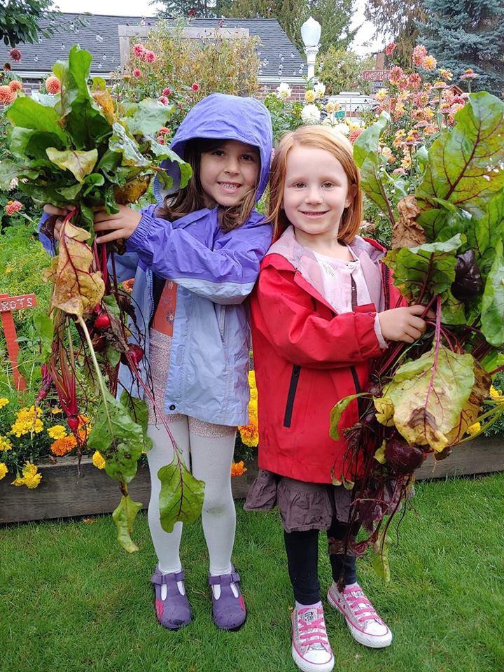 Khu vườn quá đỗi thơ mộng với hoa và rau quả của người mẹ đơn thân cùng cô con gái nhỏ xinh đẹp - Hình 27