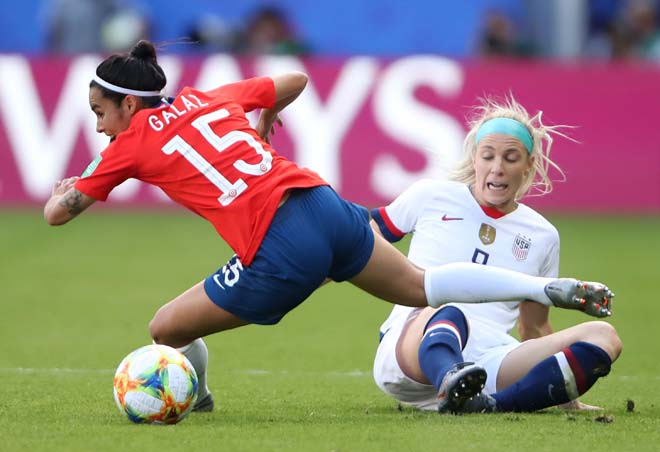Mỹ - Chile: Sức mạnh cuồng phong, vé knock-out xứng đáng (World Cup nữ) - Hình 1