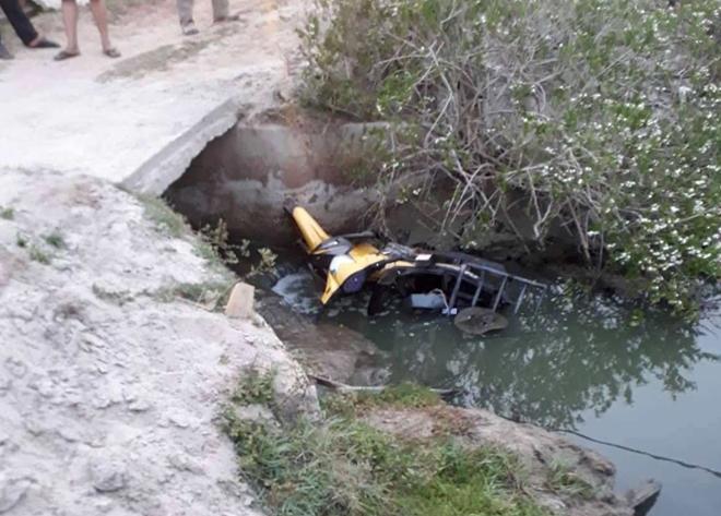 Nam thanh niên tử vong dưới kênh nước cùng chiếc xe máy - Hình 1