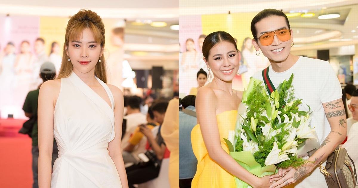 Dàn sao Việt lồng lộn dự đám cưới Nam Thư, Nam Em và BB Trần gây bất ngờ về ngoại hình - Hình 12