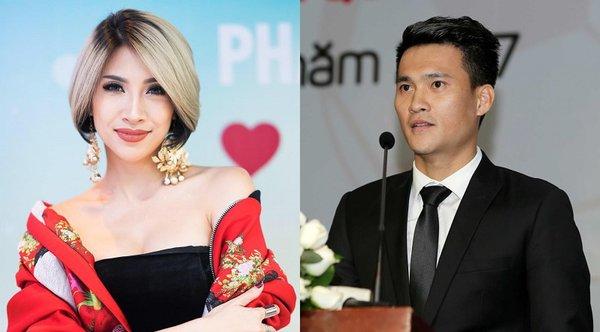 Điểm danh những cặp đôi ca sĩ - cầu thủ của làng giải trí Việt: chỉ 1 trong số đó được công nhận là Beck - Vic phiên bản Việt - Hình 6