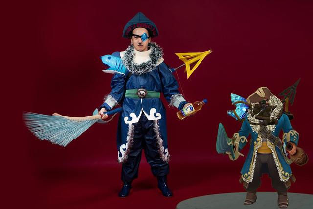 DOTA 2: Cộng đồng quốc tế vẫn chưa thể ngừng cười với những màn cosplay bá đạo của game thủ Việt - Hình 10