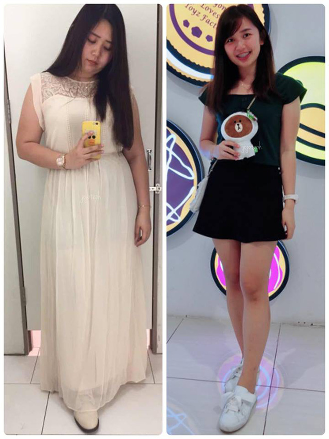 Giảm liền tù tì 30kg trong một năm, cô gái mũm mĩm hoá girl xinh khiến bạn bè không nhận ra - Hình 2