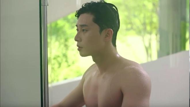 Hoá ra chủ tịch Park Seo Joon cực nghiện khoe 6 múi trên màn ảnh, múi nào múi nấy siêu to siêu khổng lồ? - Hình 7