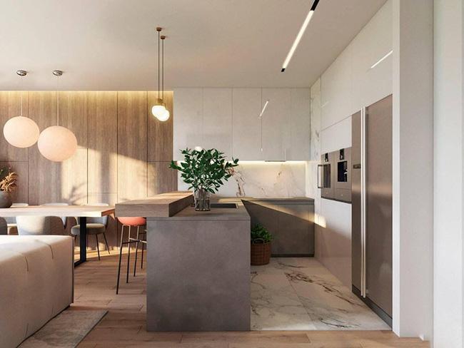 Khám phá tuyệt chiêu để có được một căn bếp gia đình hiện đại một cách dễ dàng - Hình 4