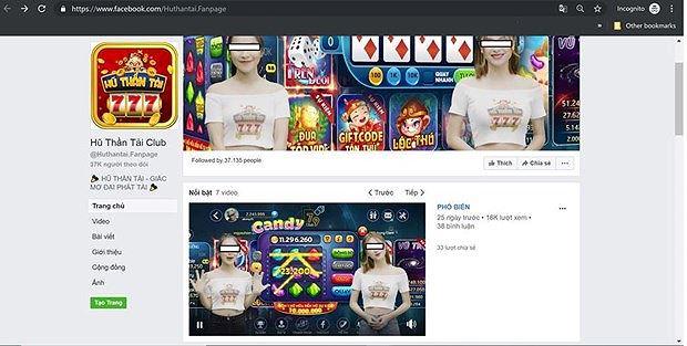 Lại xuất hiện thêm một game cờ bạc trá hình trên Internet - Hình 2
