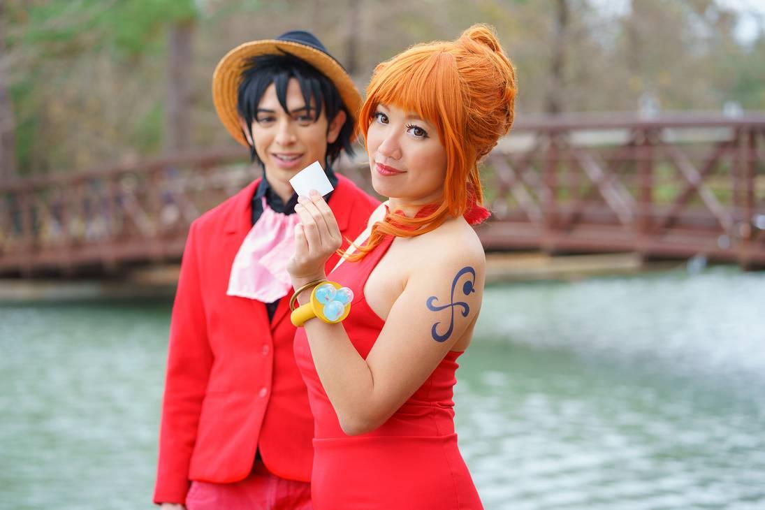 Luffy trở nên lịch lãm bên quý cô Nami - Hình 2